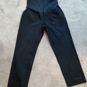 Gap Maternity Bi-stretch Slim Crop Pants